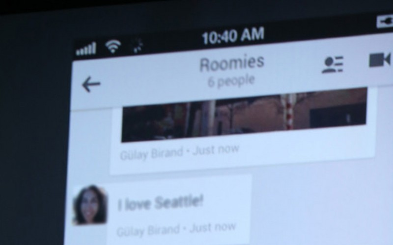 Google's Hangouts for Chrome